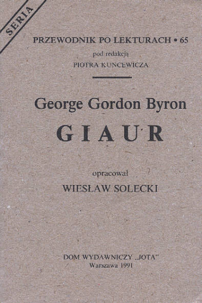 GEORGE BYRON GIAUR PDF DOWNLOAD